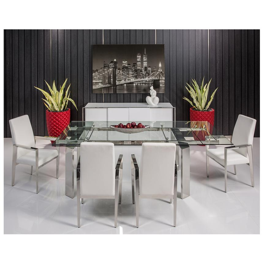 Cecilia White Buffet  El Dorado Furniture