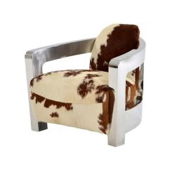 Brown Accent Chairs Leather Couch And Chair Set Aviator Cowhide El Dorado Furniture