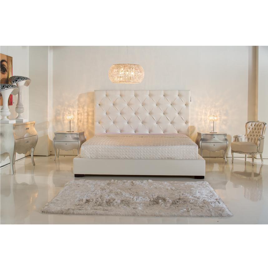 Crystal Queen Platform Bed El Dorado Furniture