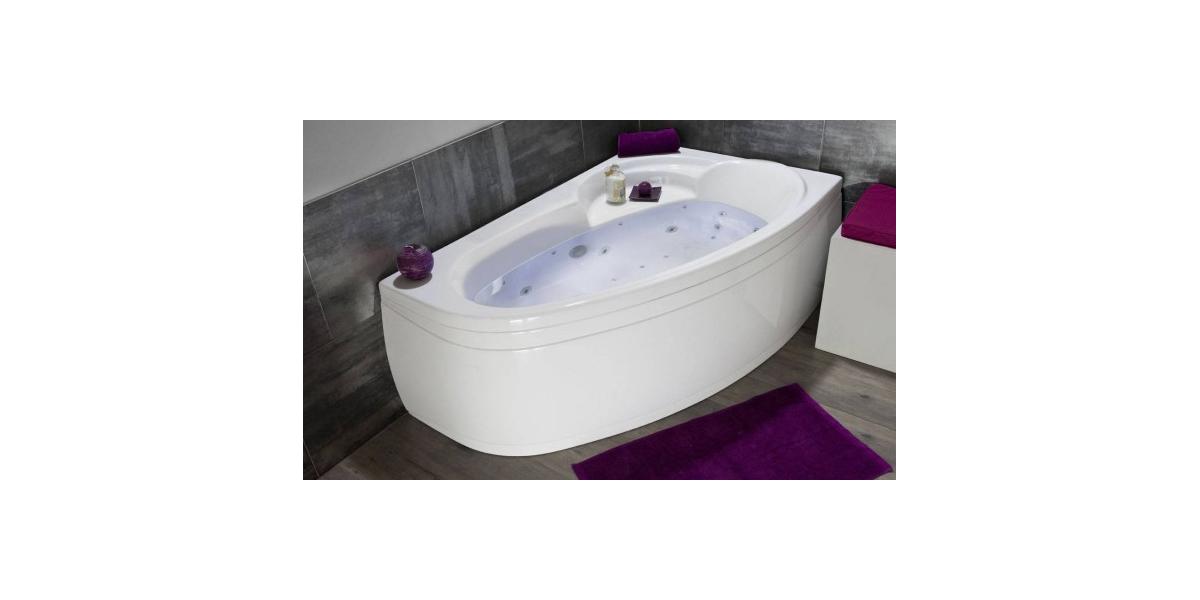 baignoire balneo ladiva asymetrique gauche baignoire balneo ladiva asymetrique gauche
