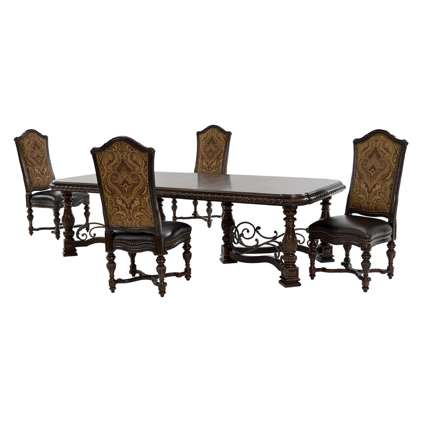 Check out the best in dining room furniture with articles like add art to an opulent dinner, birch vs. Opulent 5-Piece Formal Dining Set | El Dorado Furniture