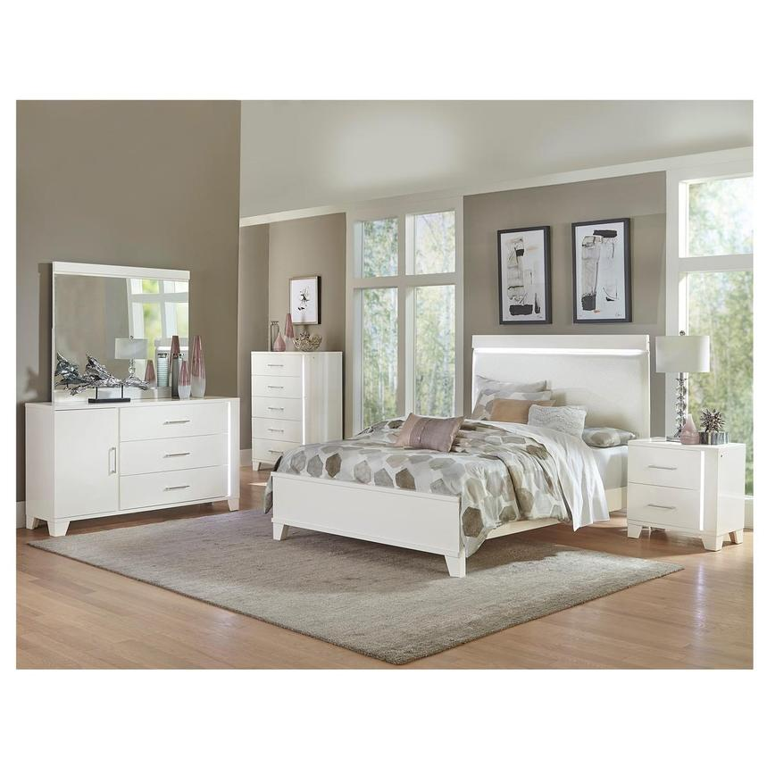 Art in your home is an important part of your decor. Whitney 4-Piece Queen Bedroom Set   El Dorado Furniture