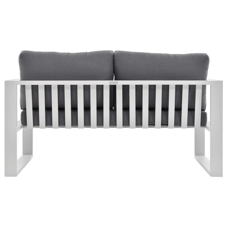 Mykonos Gray Loveseat El Dorado Furniture