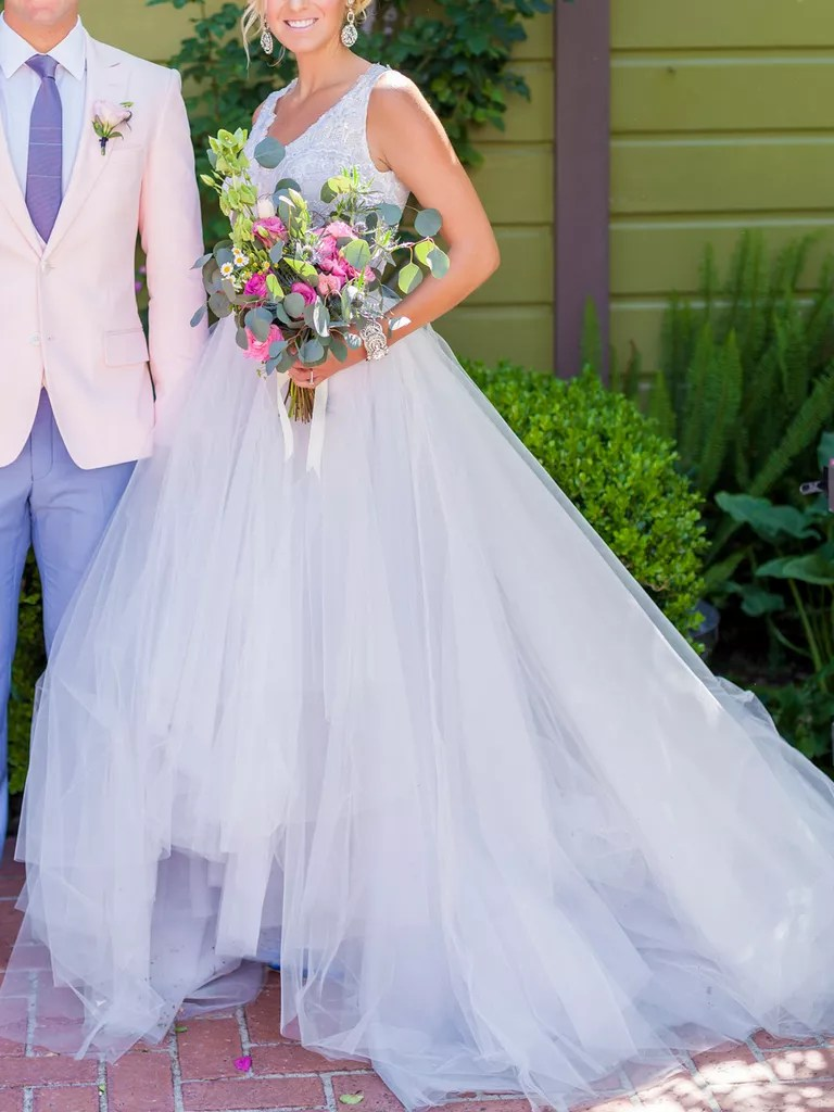 20 Dreamy Blue Wedding Gowns