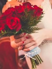 bridesmaid manicures