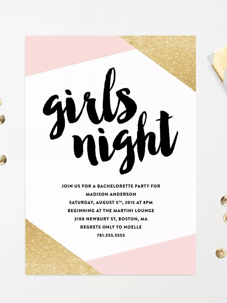 Bachelorette Invitations Templates