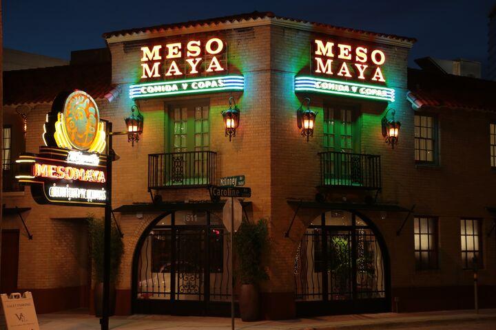 Meso Maya Restaurant  Dallas TX