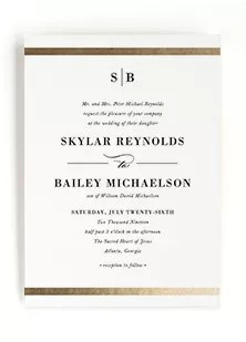Have an assortment of weddings on the calendar? Formal Attire Invitation Promotions