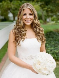 Curly Hairstyles For Brides - HairStyles