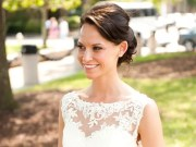 match hairstyle wedding