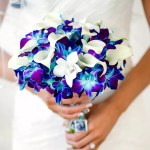 The Best Blue Wedding Flowers And 16 Gorgeous Blue Bouquets