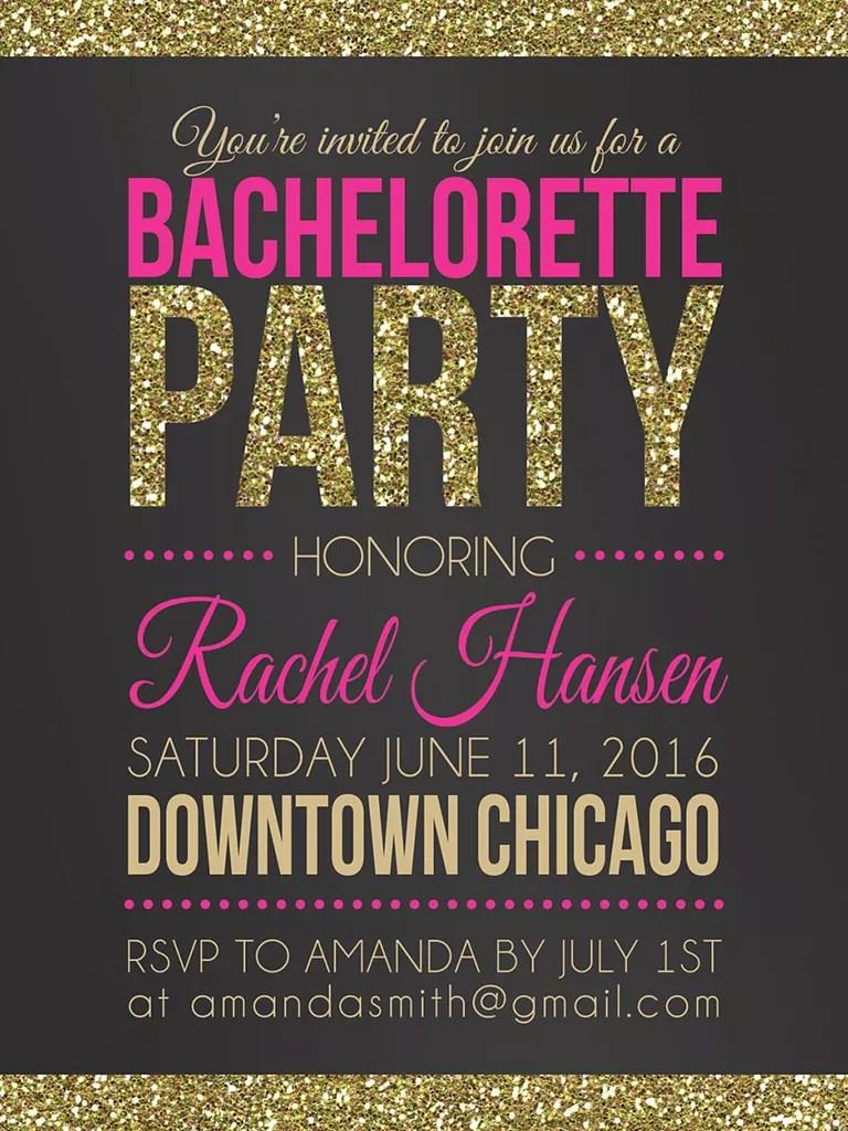 14 printable bachelorette party