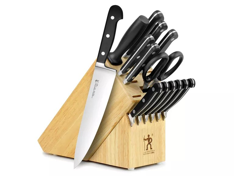 good kitchen knife set light the best sets to buy in 2019 henckels international classic 15 piece