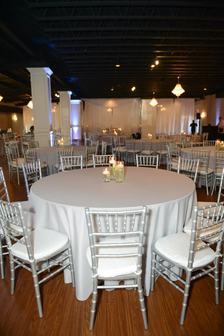 Silver Chiavari Chairs White Dining Tables And Silver Chiavari Chairs