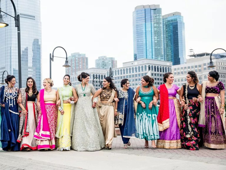 can your bridesmaids wear