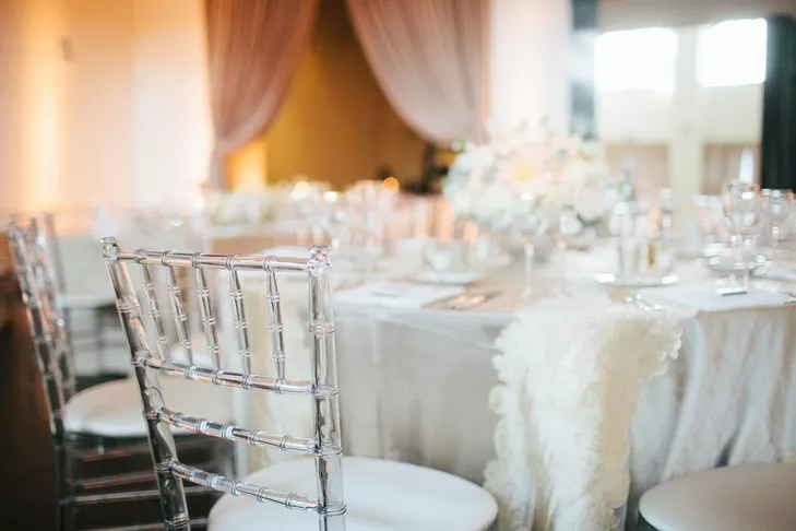 clear chiavari chairs desk chair with white linens