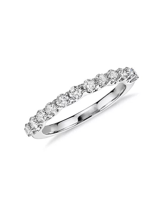 Monique Lhuillier Fine Jewelry Crown Diamond Ring (1/2 ct