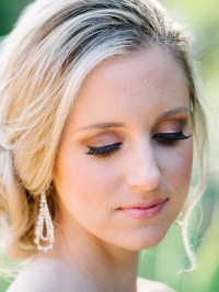Wedding Makeup Blue Eyes Blonde Hair