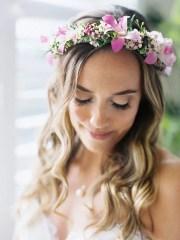 dreamy flower bridal crowns