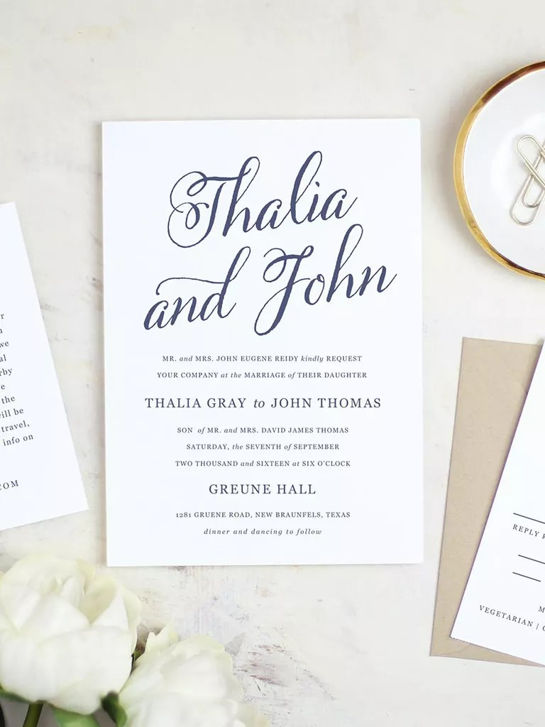 16 printable wedding invitation