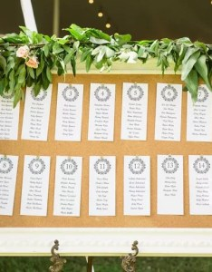 also framed cork board seating chart rh theknot