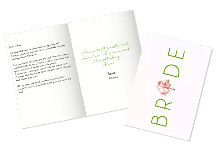 Bridal Shower Wishes: What to Write in a Bridal Shower Card
