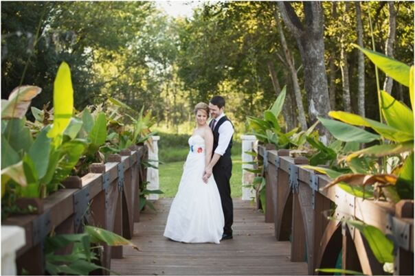 Texas Vow Renewal Wedding Reception At The Big Stone Lodge In Spring