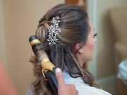 country-chic wedding hairstyles