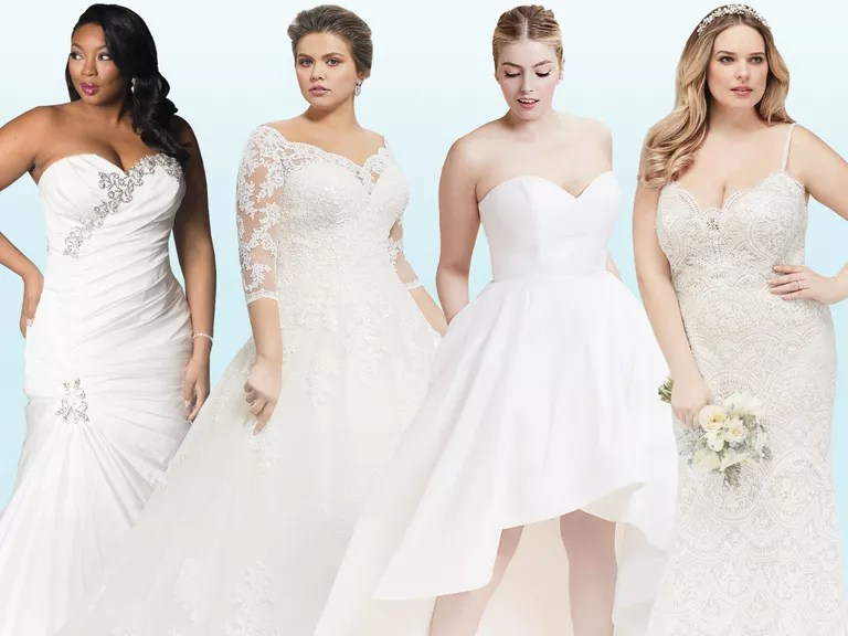 20 Gorgeous Plus-Size Wedding Dress You'll Love
