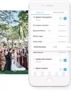 Real time wedding guest updates the knot also list free manager rh theknot