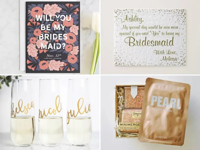 40 creative bridesmaid proposal