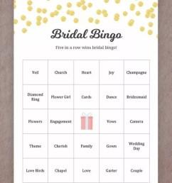 printable wedding games for your reception bingo [ 768 x 1024 Pixel ]