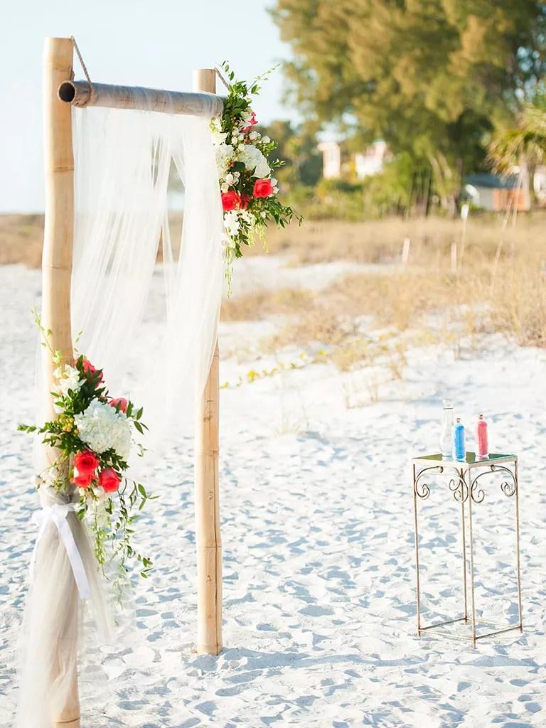 Fall Wedding Arbor