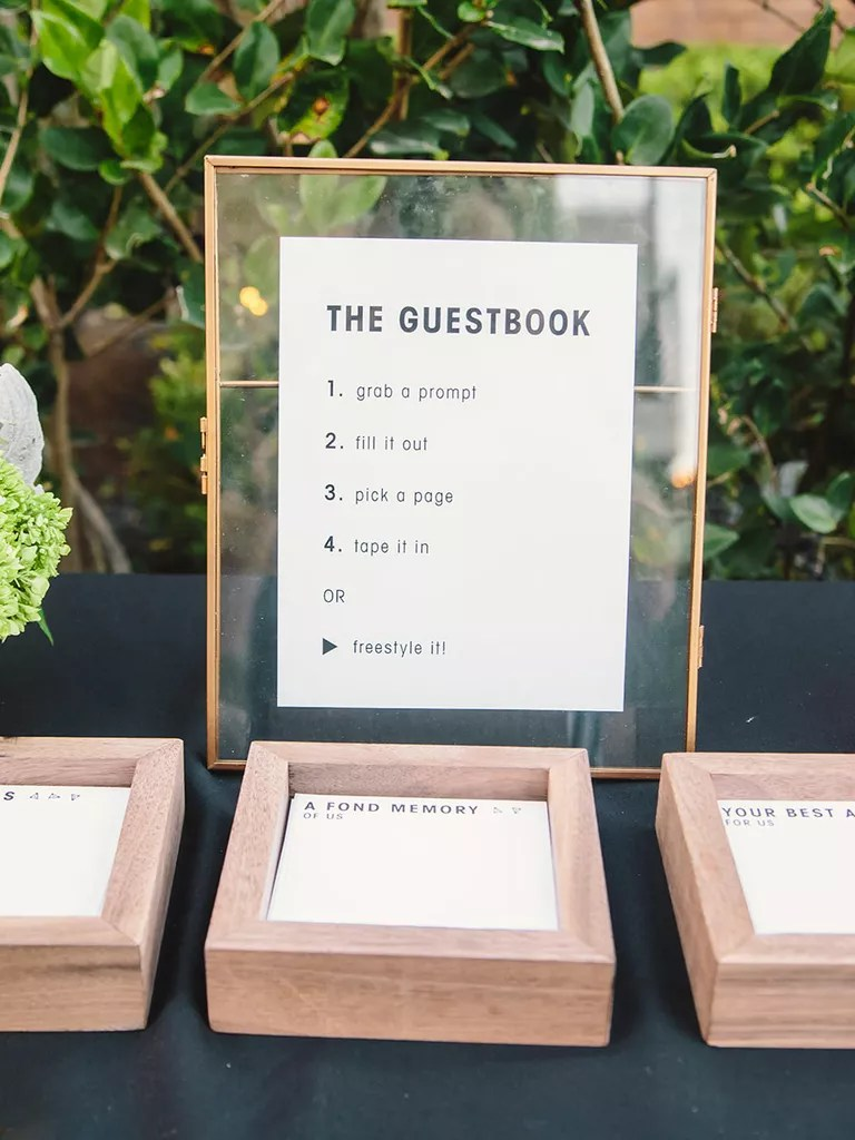 Wedding Guest Book Guest Book Alternatives Youll Love