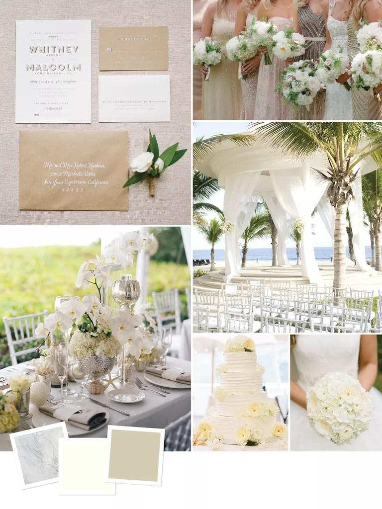 Beach Wedding Themes
