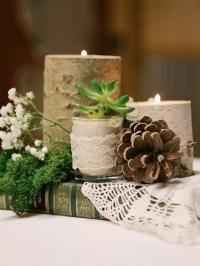Diy Candle Centerpieces Wedding - Diy (Do It Your Self)