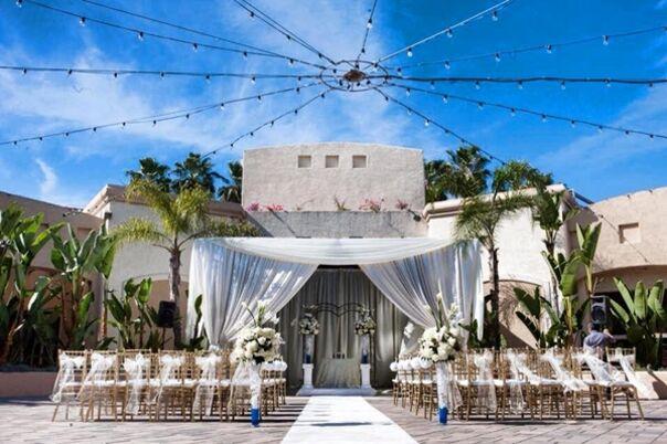 Downtown Los Angeles Hotel Wedding Venue