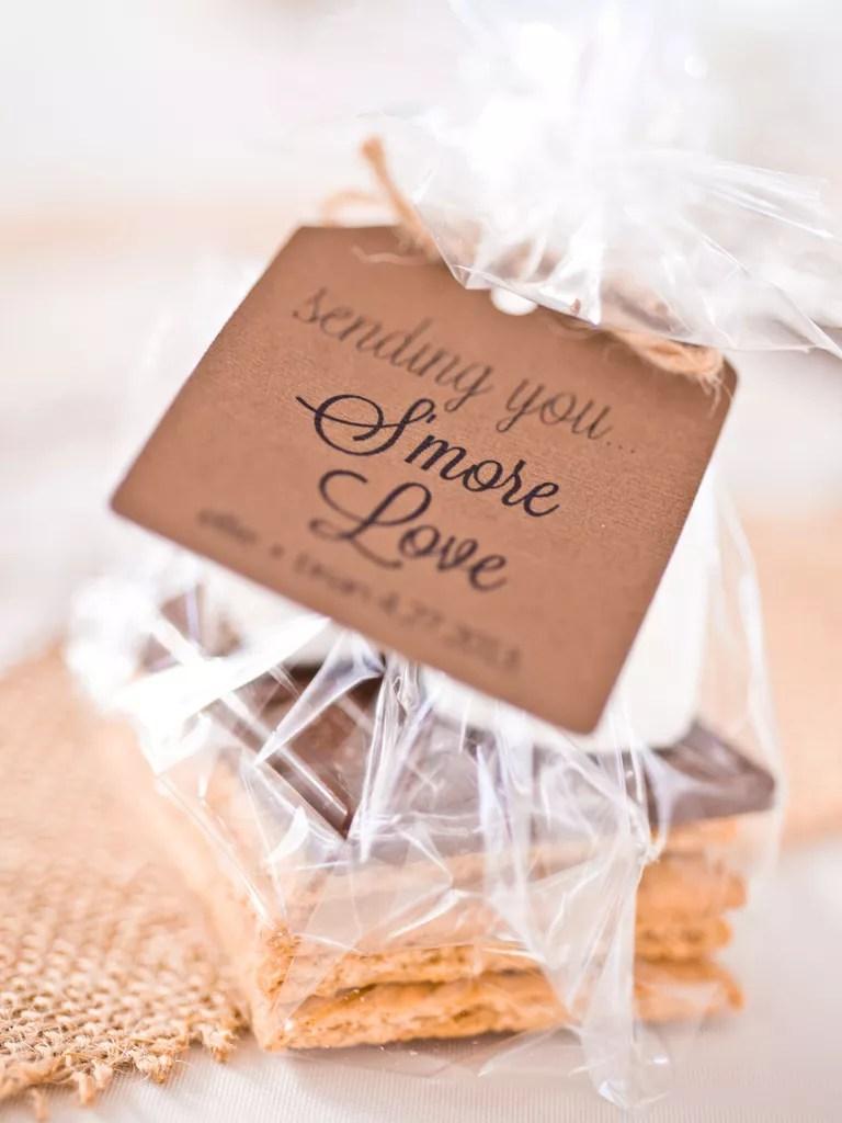 Homemade Fall Wedding Favors