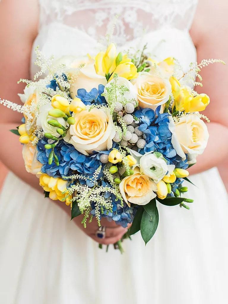 the best blue wedding