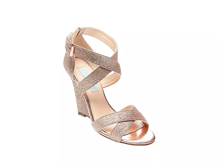 Champagne Wedges Wedding
