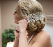 artistic wedding hair & make