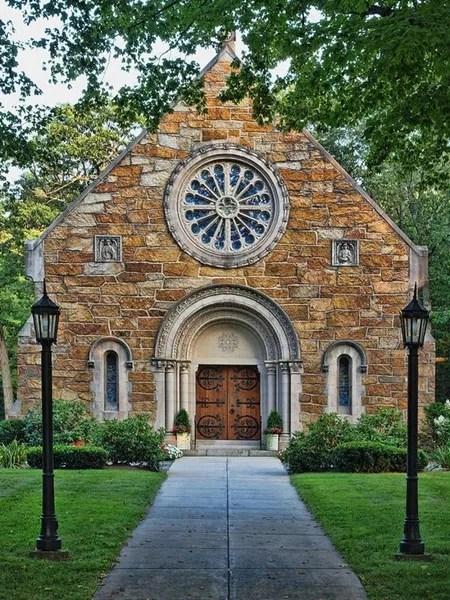The Chapel at West Parish  Andover MA