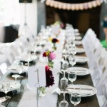 Simple Table Setting And Number