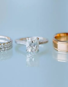 Engagement ring and wedding bands for sizing also size chart how to measure rh theknot