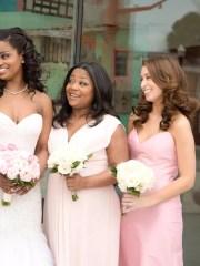 pretty bridesmaid hairstyle