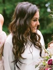 boho bridesmaid hairstyles