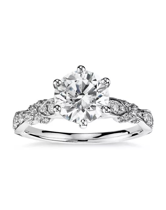 Monique Lhuillier Fine Jewelry Embellished Six-Prong