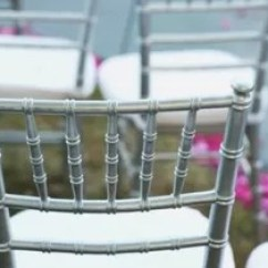 Chair Covers Rental Cleveland Ohio Rattan Swivel Cushions Wedding Rentals In Oh The Knot 4 Silver Clear Mahogany Chiavari