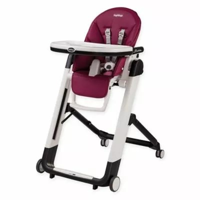 bitty baby high chair shapes outdoor dining cushions sunbrella margie s registry on the bump peg perego siesta in berry