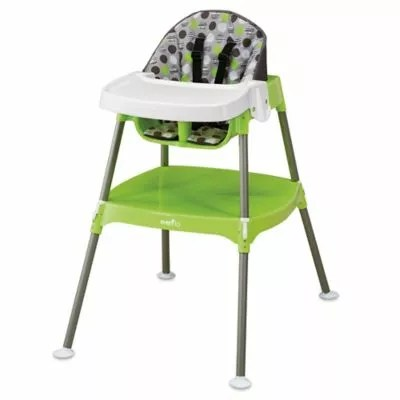 high chair buy baby drop leaf table and chairs argos rebecca bertrand paul s registry on the bump evenflo convertible 3 in 1 dottie lime
